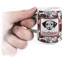 Dog Faces Espresso Mug - 3 oz (Personalized)