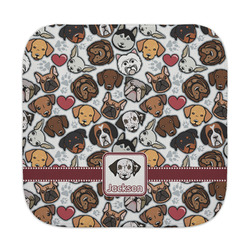 Dog Faces Face Towel (Personalized)