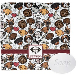 Dog Faces Wash Cloth (Personalized)