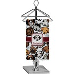 Dog Faces Finger Tip Towel - Full Print (Personalized)