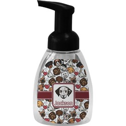 Dog Faces Foam Soap Dispenser (Personalized)