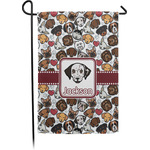 Dog Faces Garden Flag (Personalized)