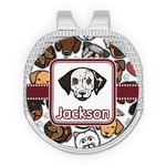 Dog Faces Golf Ball Marker - Hat Clip