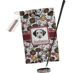 Dog Faces Golf Towel Gift Set (Personalized)