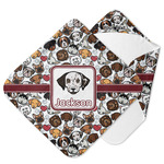Dog Faces Hooded Baby Towel (Personalized)