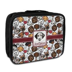 Dog Faces Insulated Lunch Bag (Personalized)