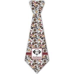 Dog Faces Iron On Tie - 4 Sizes w/ Name or Text