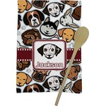 Dog Faces Kitchen Towel - Full Print (Personalized)
