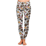 Dog Faces Ladies Leggings (Personalized)