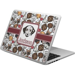 Dog Faces Laptop Skin - Custom Sized (Personalized)