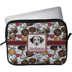 "Dog Faces Laptop Sleeve / Case - 13"" (Personalized)"