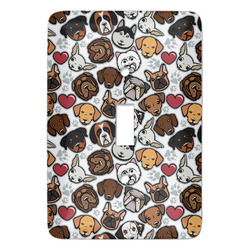 Dog Faces Light Switch Covers - Multiple Toggle Options Available (Personalized)
