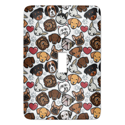 Dog Faces Light Switch Covers (Personalized)