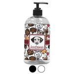 Dog Faces Plastic Soap / Lotion Dispenser (Personalized)