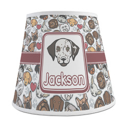 Dog Faces Empire Lamp Shade (Personalized)