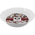 Dog Faces Melamine Bowl (Personalized)