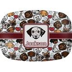 Dog Faces Melamine Platter (Personalized)