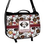 Dog Faces Messenger Bag (Personalized)
