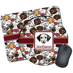 Dog Faces Mouse Pads (Personalized)
