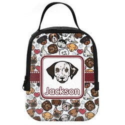 Dog Faces Neoprene Lunch Tote (Personalized)