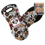 Dog Faces Neoprene Oven Mitt (Personalized)