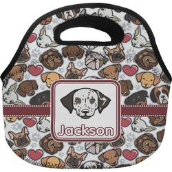 Dog Faces Lunch Bag (Personalized)