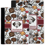 Dog Faces Notebook Padfolio w/ Name or Text