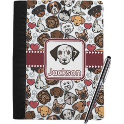 Dog Faces Notebook Padfolio (Personalized)
