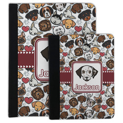 Dog Faces Padfolio Clipboard (Personalized)