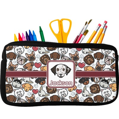 Dog Faces Pencil Case (Personalized)