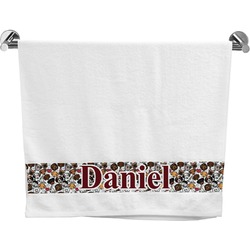 Dog Faces Bath Towel (Personalized)