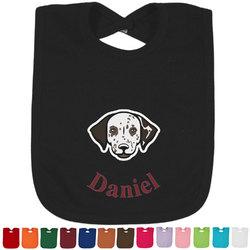 Dog Faces Baby Bib - 14 Bib Colors (Personalized)