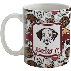Dog Faces Coffee Mug (Personalized)