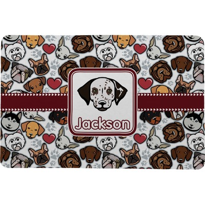 "Dog Faces Comfort Mat - 20""x30"" (Personalized)"