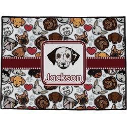 Dog Faces Door Mat (Personalized)