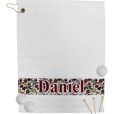 Dog Faces Golf Towel (Personalized)