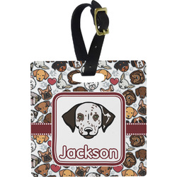 Dog Faces Luggage Tags (Personalized)
