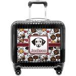 Dog Faces Pilot / Flight Suitcase (Personalized)