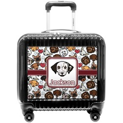 Dog Faces Pilot / Flight Suitcase (Personalized)
