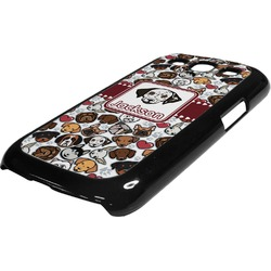Dog Faces Plastic Samsung Galaxy 3 Phone Case (Personalized)