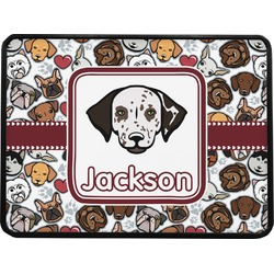 Dog Faces Rectangular Trailer Hitch Cover (Personalized)