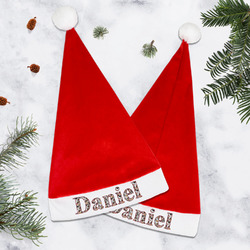 Dog Faces Santa Hat (Personalized)