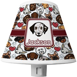 Dog Faces Shade Night Light (Personalized)