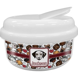 Dog Faces Snack Container (Personalized)