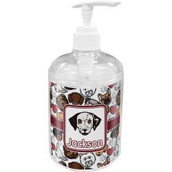 Dog Faces Acrylic Soap & Lotion Bottle (Personalized)