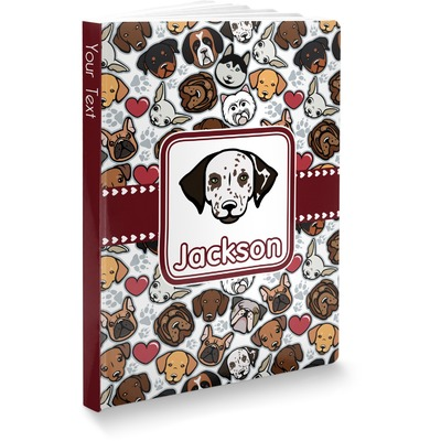 Dog Faces Softbound Notebook (Personalized)