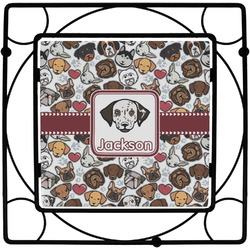 Dog Faces Square Trivet (Personalized)