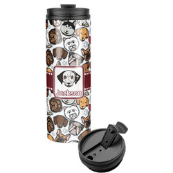 Dog Faces Stainless Steel Tumbler (Personalized)