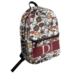 Dog Faces Student Backpack (Personalized)