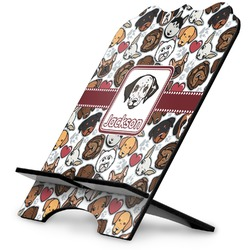 Dog Faces Stylized Tablet Stand (Personalized)